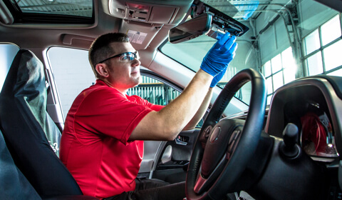 reparación del sensor de luz del vehículo