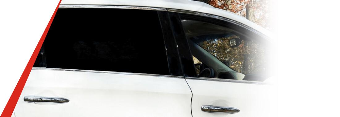 guía de ventanillas laterales del auto