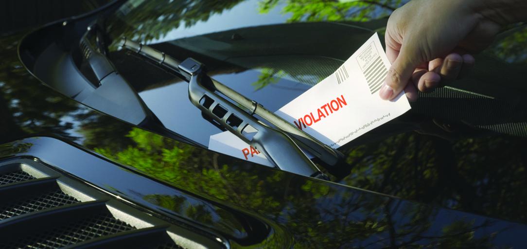 ticket-windshield